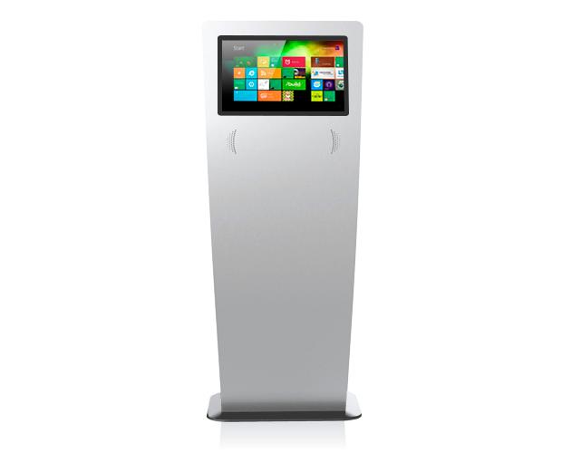 kiosque-écran tactile publicité interactive