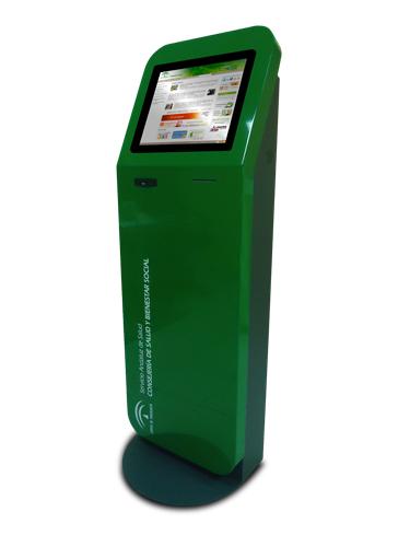 kiosque interactif écran tactile publlicidad