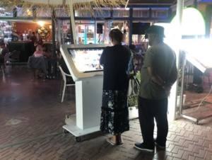 artemedia interactif kiosque restaurant